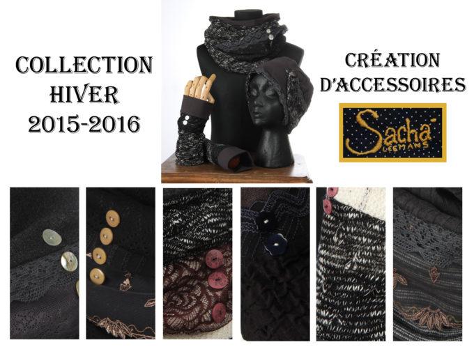 couleurs sombres touches de couleuraccesoires d'hiver Bonnet mitaines écharpes laine coton polaire boutons et dentelle chaud coloré agréable uniques ensembles 3pièces snood col