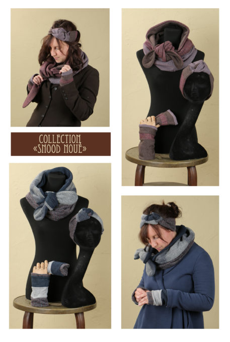 collection snood noué