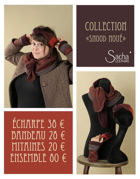 collection snood noué 3